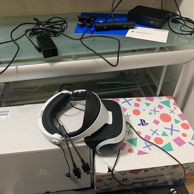 PlayStation VR(プレイステーションヴィーアール)のSONY PlayStation VR 美品 エンタメ/ホビーのゲームソフト/ゲーム機本体(その他)の商品写真