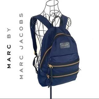 マークバイマークジェイコブス(MARC BY MARC JACOBS)のマークジェイコブス リュック レディース  ネイビー 紺色 バッグ(リュック/バックパック)