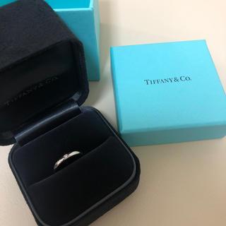 ティファニー(Tiffany & Co.)の★Tiffany 7号 ダイヤ 指輪 新品 リング 箱付 ティファニー ★(リング(指輪))