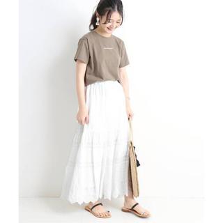 IENA - ●新品タグ付き●完売●SLOBE IENA 刺繍レースロングスカート◆