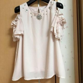 リズリサ(LIZ LISA)のオフショルトップス(シャツ/ブラウス(半袖/袖なし))