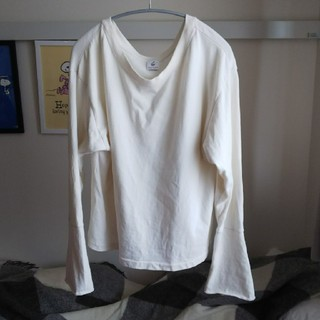 BEAUTY&YOUTH UNITED ARROWS - ロク B&Yロング厚手Tシャツ  オーガニックホワイト色
