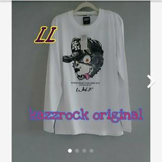 カズロックオリジナル(KAZZROCK ORIGINAL)のゲリラセール☆*° kazzrock original 新品タグ付き長袖Tシャツ(Tシャツ/カットソー(七分/長袖))