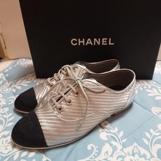 シャネル(CHANEL)のCHANEL シャネル レースアップシューズ (ローファー/革靴)