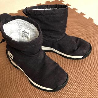 NIKE - NIKE 暖かスウェードブーツ 男子19センチ