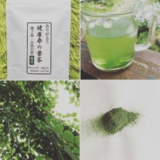2019年産 桑の葉茶 粉末 パウダー 無農薬 有機 種子
