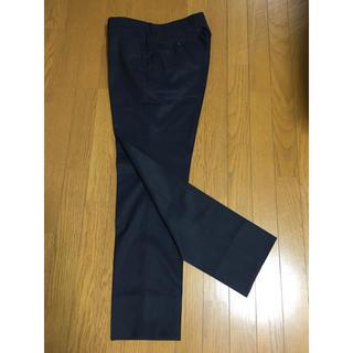 THE SUIT COMPANY - パンツ スラックス スーツセレクト ビジネス 紺色 毛50% ポリエステル50%