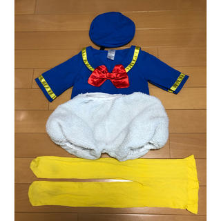 Disney - ハロウィン コスプレ(衣装) ドナルド(80〜100) ディズニー キッズ