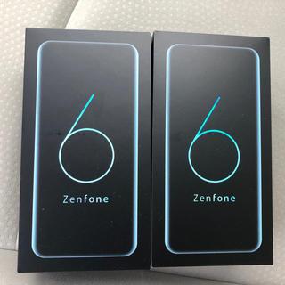 ASUS - ASUS zenfone6  6GB / 128GB シルバー 、ブラック2台
