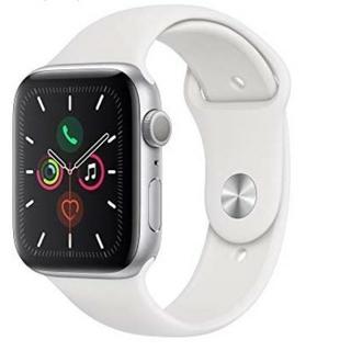 アップルウォッチ(Apple Watch)の【新品】Apple Watch series5 44mm ホワイト(腕時計(デジタル))