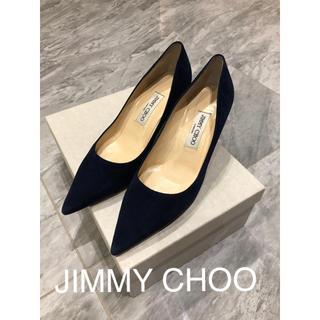 JIMMY CHOO - 美品 ジミーチュウ パンプス 38