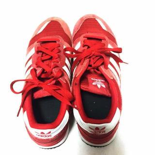 アディダス(adidas)の【早い者勝ち】美品 アディダス スニーカー 赤(スニーカー)