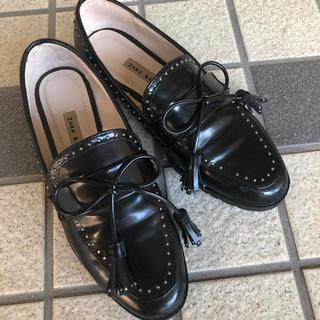 ZARA - ZARA エナメル革靴
