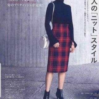 ミラオーウェン(Mila Owen)のチェックスカート(ひざ丈スカート)