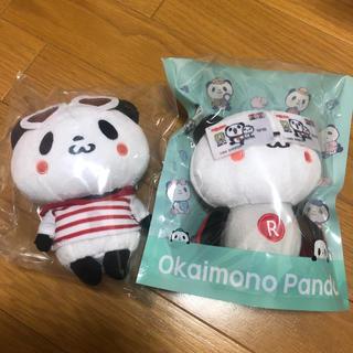 ラクテン(Rakuten)のお買いものパンダ ぬいぐるみ セット(ぬいぐるみ)