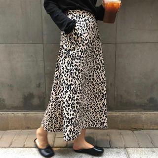 ZARA - レオパード スカート