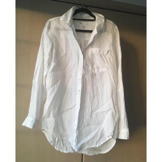 GAP - GAP リネンシャツ 白色