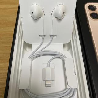 Apple - iphone イヤフォン 正規品
