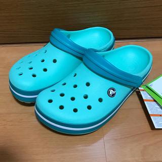 crocs - クロックス new mint 24cm