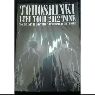 トウホウシンキ(東方神起)の【超美品】東方神起  DVD   TONE  3枚組(ミュージック)