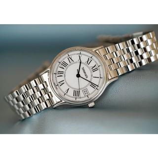 ティファニー(Tiffany & Co.)の美品 ティファニー クラシック シルバー ローマン メンズ Tiffany(腕時計(アナログ))