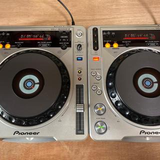 パイオニア(Pioneer)の【人気】PIONEER CDJ800mk2 08年製 2台(CDJ)
