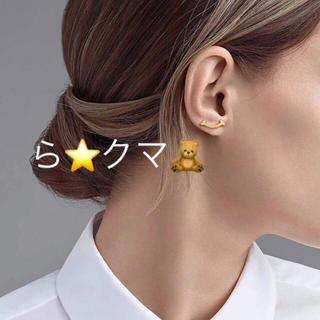 ティファニー(Tiffany & Co.)のティファニー スマイル ピアス  正規品 K18RG (ピアス)