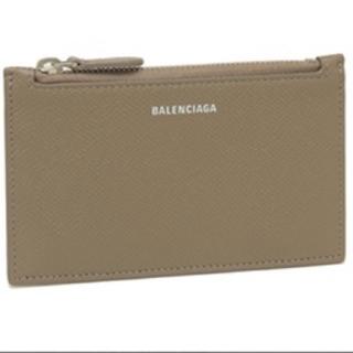 Balenciaga - バレンシアガ グレー(ベージュ)カードホルダー