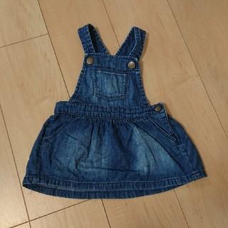 ベビーギャップ(babyGAP)のベビーギャップ ジャンパースカート 70(ワンピース)