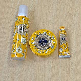 ロクシタン(L'OCCITANE)のロクシタン チェリーブロッサムオードトワレ香水 シャワージェルとボディクリーム(香水(女性用))
