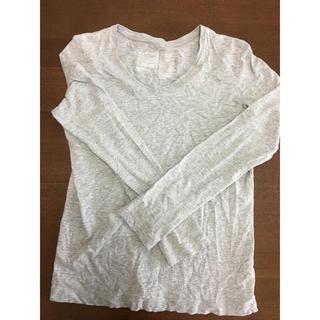 MUJI (無印良品) - 無印良品 長袖 Tシャツ カットソー