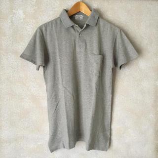 ズーム(Zoom)の古着 メンズ レディース 半袖 ポロシャツ グレー M(ポロシャツ)