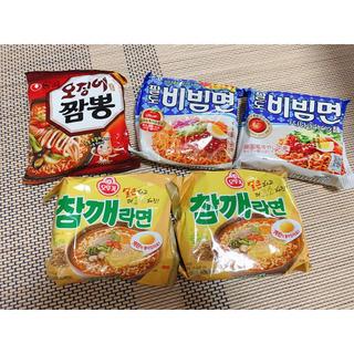 韓国インスタント ラーメン セット 5袋分