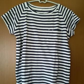 ムジルシリョウヒン(MUJI (無印良品))のMUJI labo ボーダーTシャツ(Tシャツ(半袖/袖なし))
