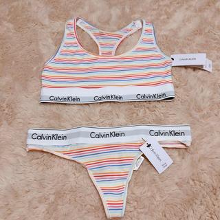 カルバンクライン(Calvin Klein)のカルバンクライン下着セット(ブラ&ショーツセット)