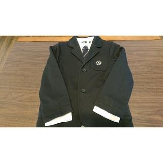 サンカンシオン(3can4on)の【3can4on】男の子スーツセット120cm(ドレス/フォーマル)