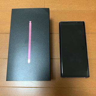 SAMSUNG - Galaxy note9 SIMフリー RAM8GB メモリー512GBモデル