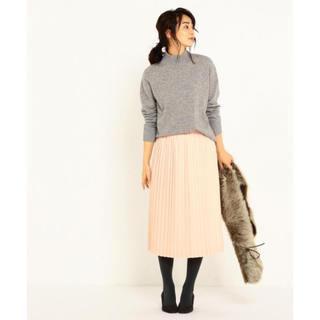 23区 - 新品未使用◇サテンジョーゼットプリーツスカート