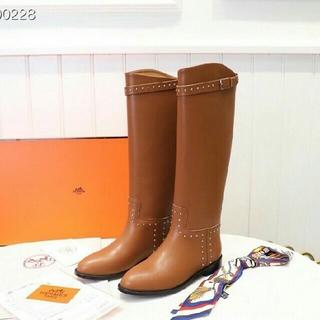Hermes - 美品 HERMES  長靴 22cm-25.5cm