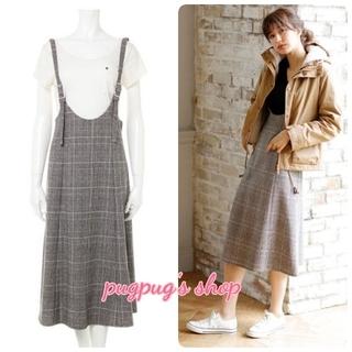 INGNI - 【新品】INGNI ストラップ付チェック柄フレア/スカート362489