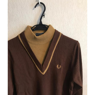 FRED PERRY - フレッドペリー ニット 38  REISSUES Made In Italy