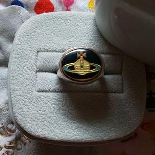 ヴィヴィアンウエストウッド(Vivienne Westwood)のviviennewestwood エナメルボタンリング(リング(指輪))