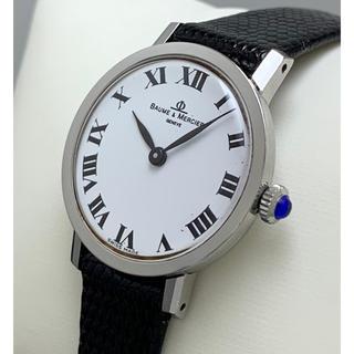 ボームエメルシエ(BAUME&MERCIER)のボーム&メルシェ 腕時計 ステンレスケース レディース 手巻き(腕時計)