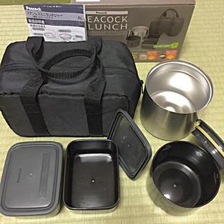 ピーコック保温ジャー ランチジャー セット ステンレス製 お弁当箱
