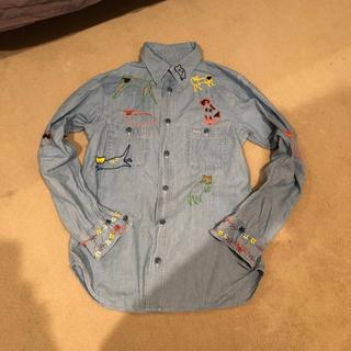 KAPITAL - キャピタル可愛い刺繍シャツ