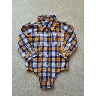 ベビーギャップ(babyGAP)のbaby Gap ベビーギャップ 長袖 シャツ ブラウス ロンパース 90(ブラウス)
