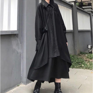 COMME des GARCONS - アシンメトリーロングシャツ