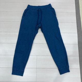 UNIQLO - ユニクロ メンズSサイズ スウェットパンツ ブルー