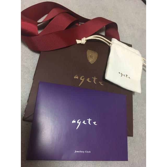 agete(アガット)のアガット  レディースのアクセサリー(その他)の商品写真