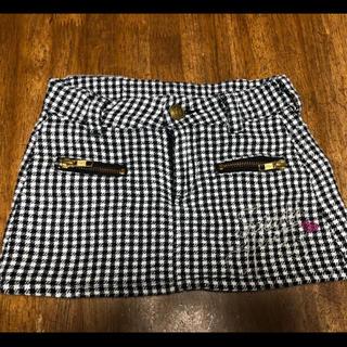 ジディー(ZIDDY)の美品 ZIDDY キッズ ミニスカート 120(スカート)